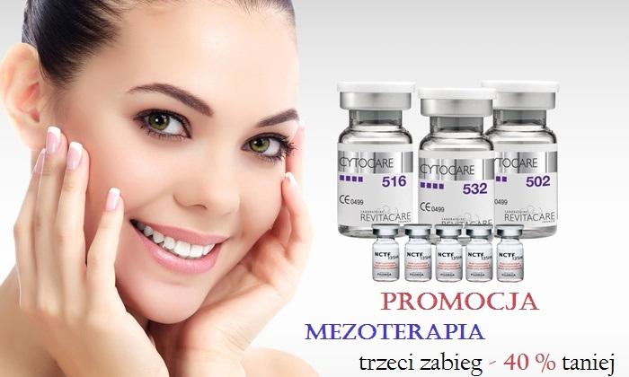 Mezoterapia- zastrzyk młodości PROMOCJA